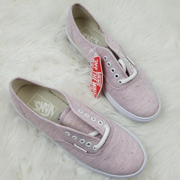 0584427cc422 Vans Authentic Lo Pro Speckle Jersey Pink 6 NIB